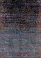 Seidenteppich Colorful
