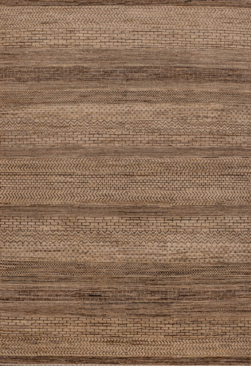 Gabbeh-Teppich Natur Wool