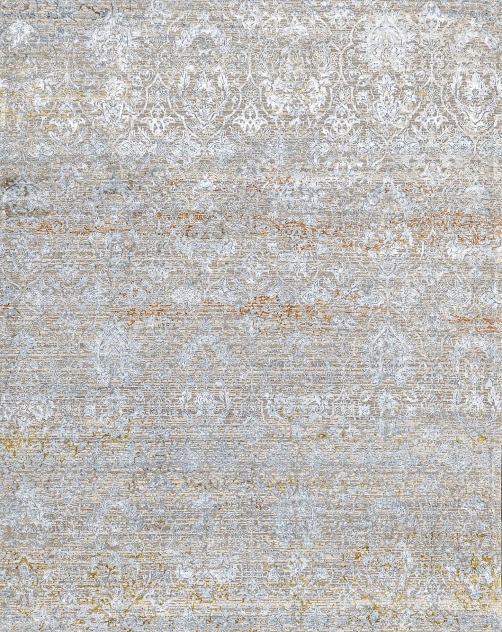 Design-Teppich Floralaqua