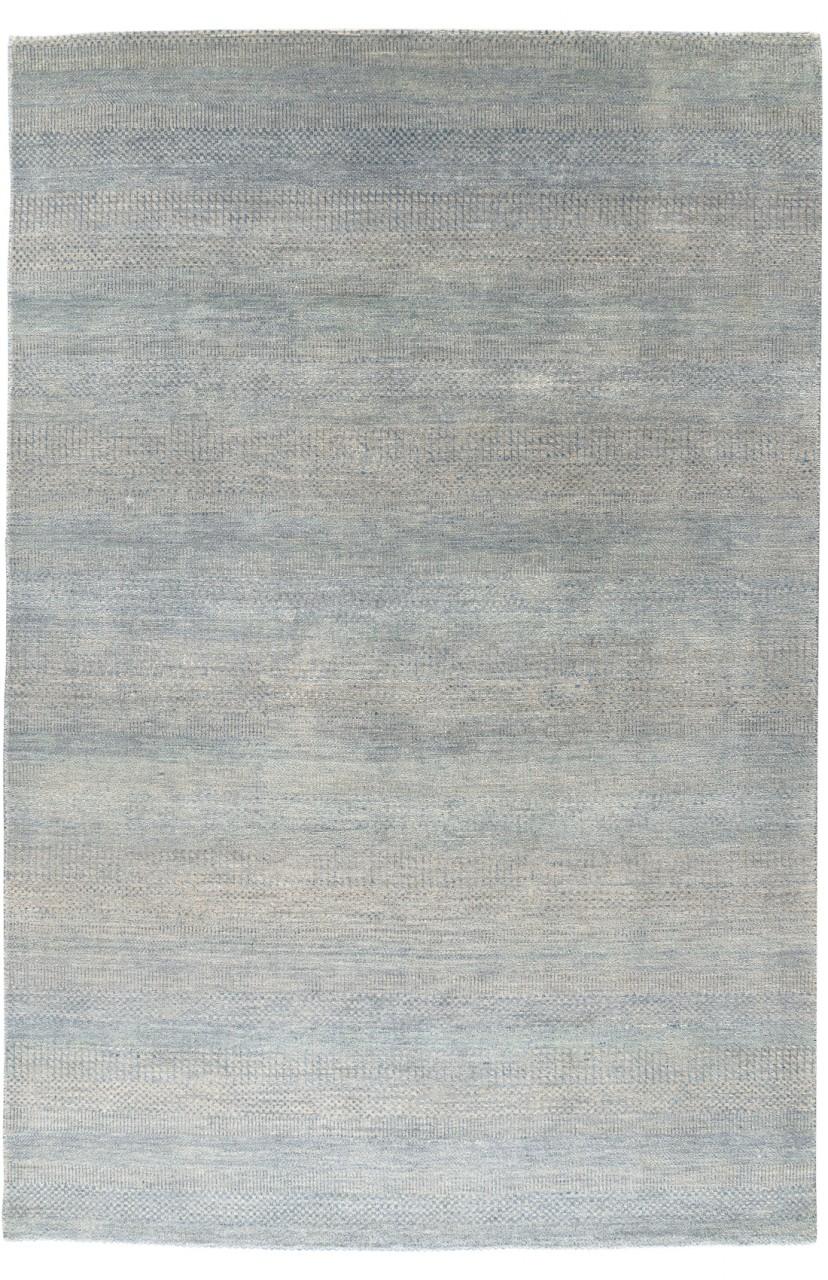 Design-Teppich Modern Bluelines