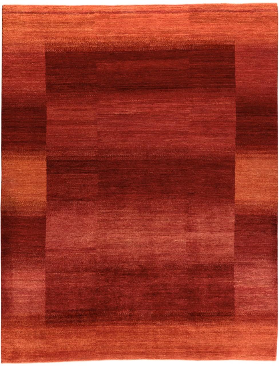 Iran Gabbeh Teppich-Unikat Rote Sonne