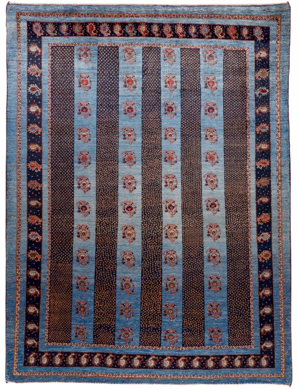 Iran Gabbeh Teppich-Unikat Persisches Boteh