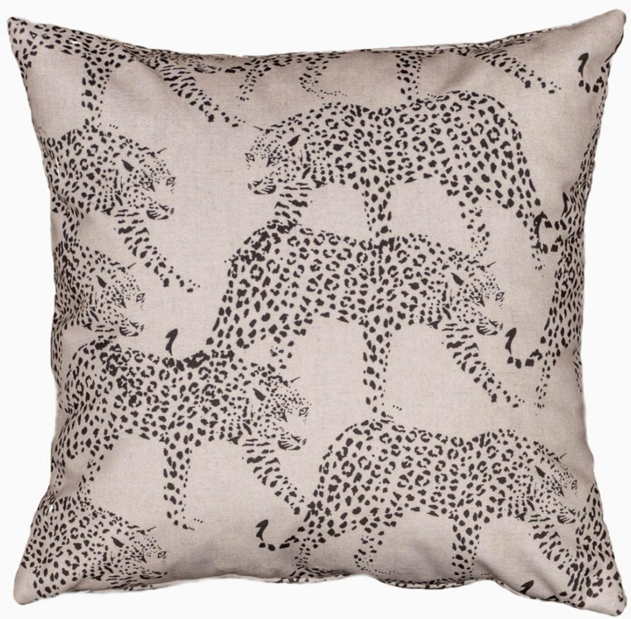 Kissen Leoparden