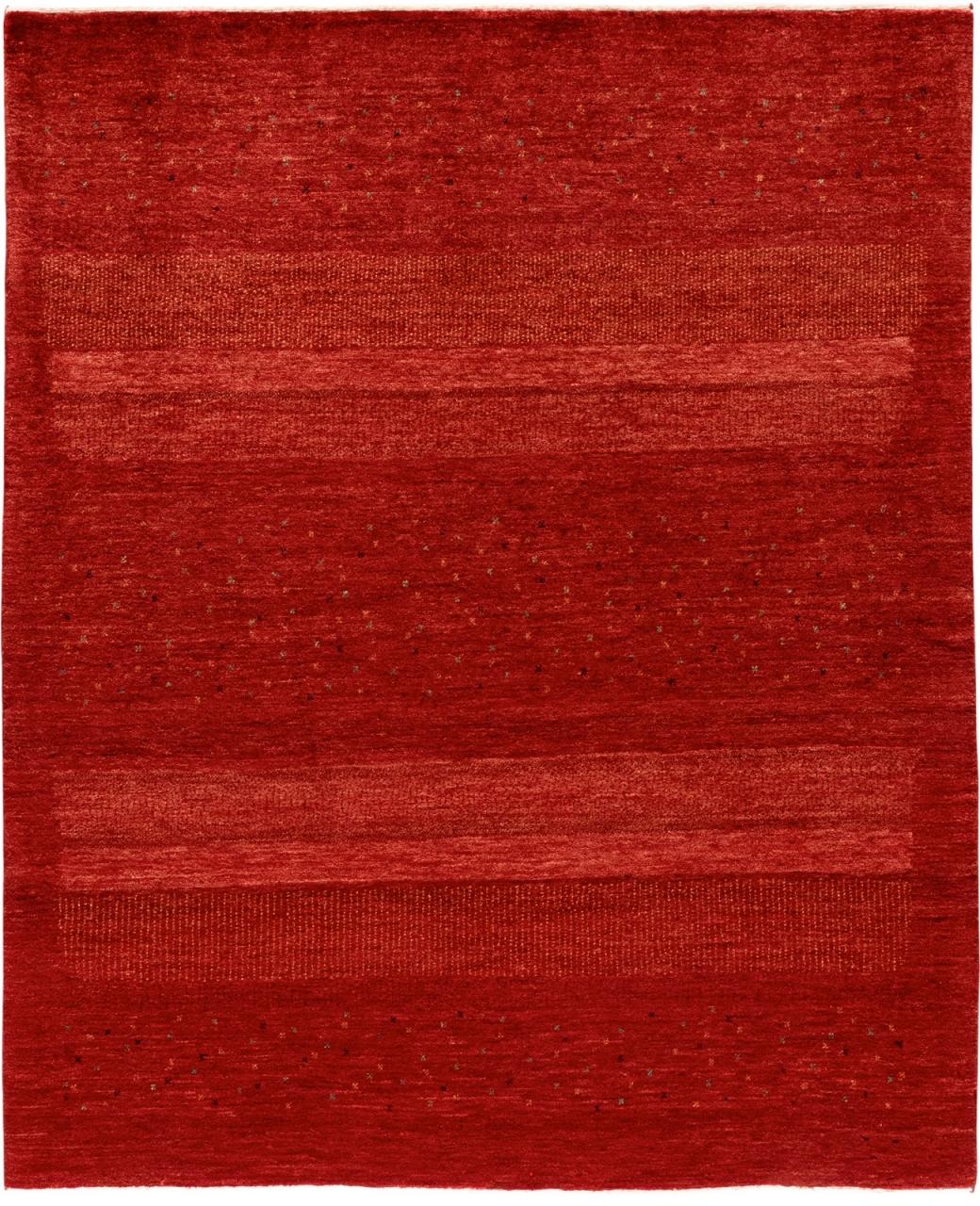 Iran Gabbeh Teppich-Unikat Redstone