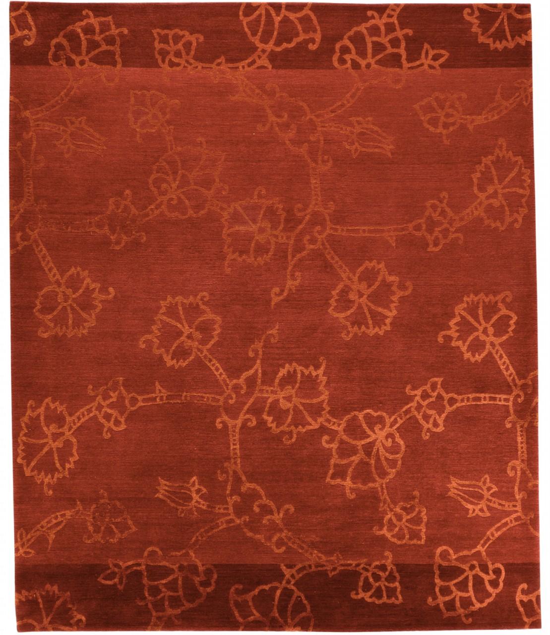 Design-Teppich Flowers