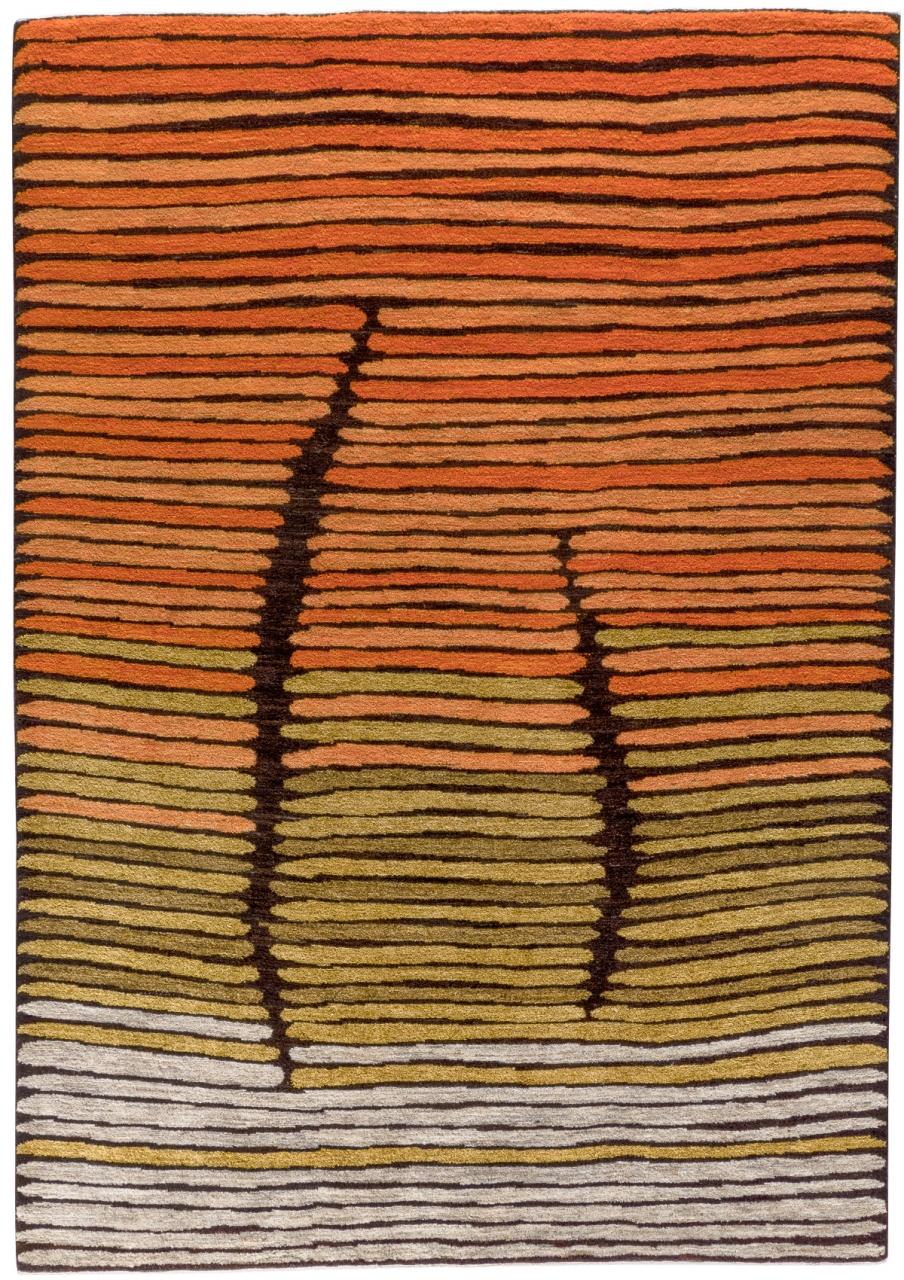 Iran Gabbeh Teppich-Unikat Wüstenzauber