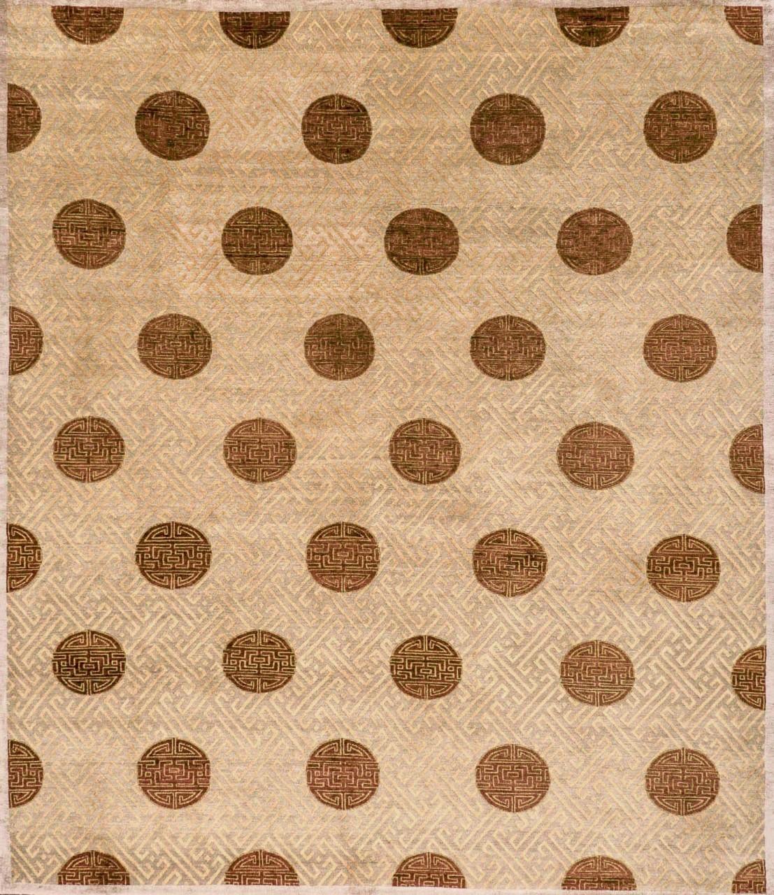 Design-Teppich Mandala Dots