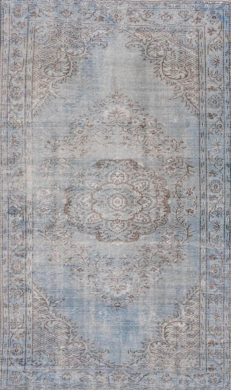 Vintage-Teppich Antique Blue