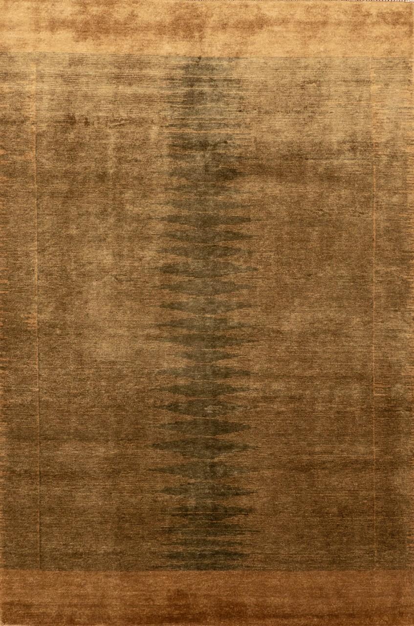 Gabbeh-Teppich Oliveflow