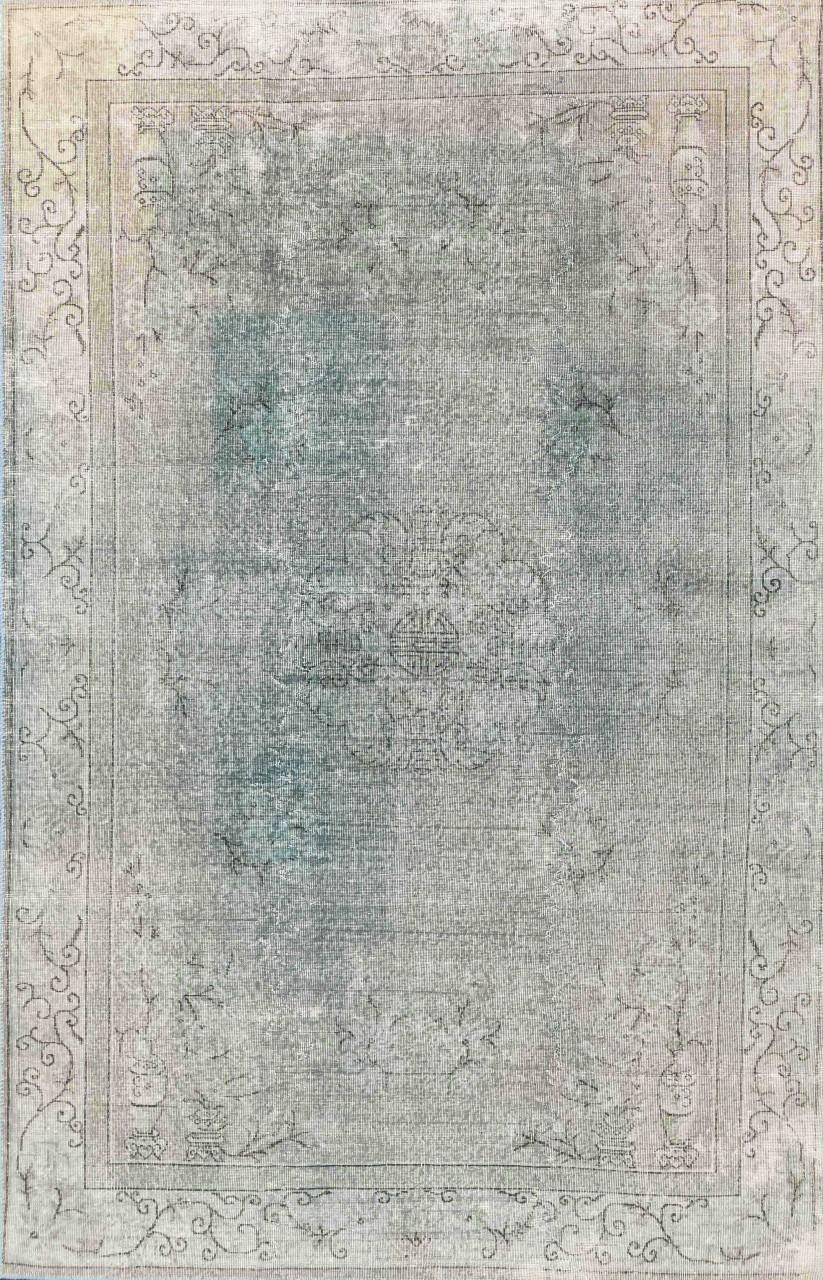Vintage-Teppich Antique Turquoise