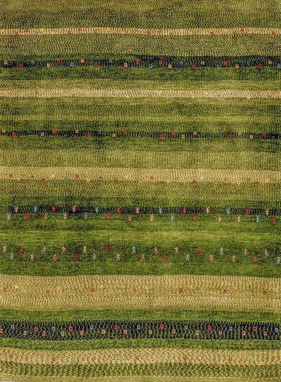 Iran Gabbeh Teppich-Unikat Wiesengräser