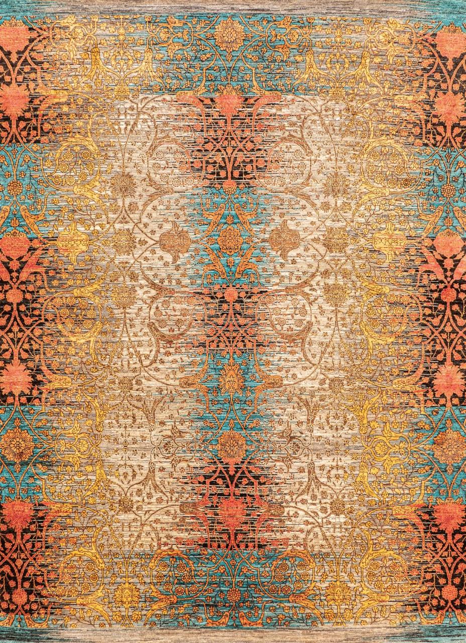 Design-Teppich Palastgarten