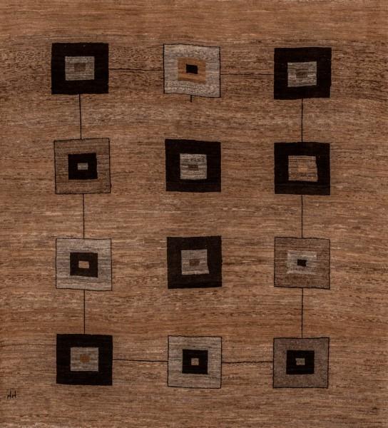 Gabbeh-Teppich Würfelspiel