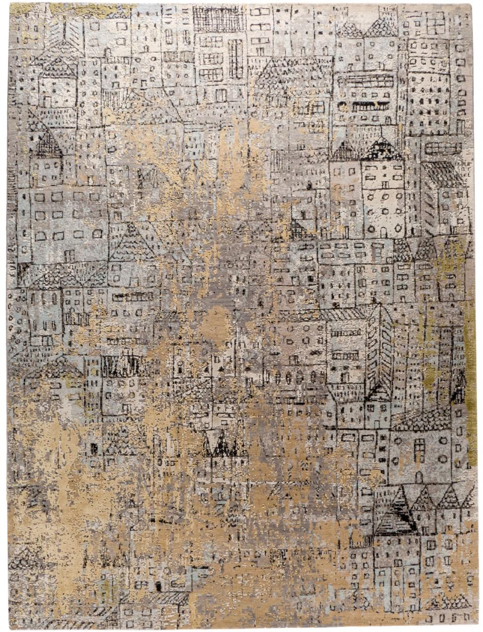 Design Teppich City of Art