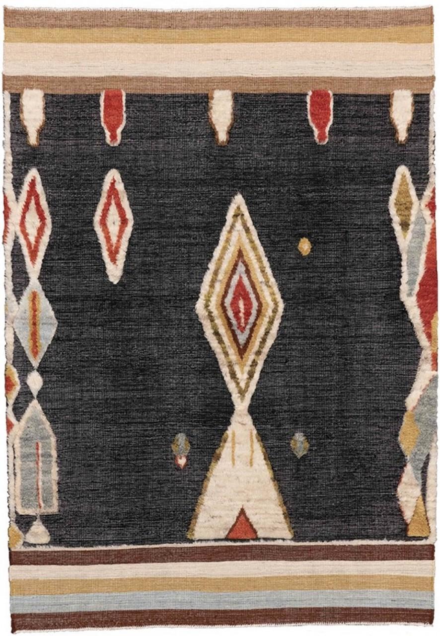 Kelim-Teppich Tribal Art