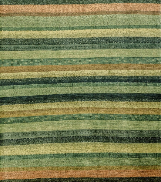 Iran Gabbeh Teppich-Unikat Graslandschaft