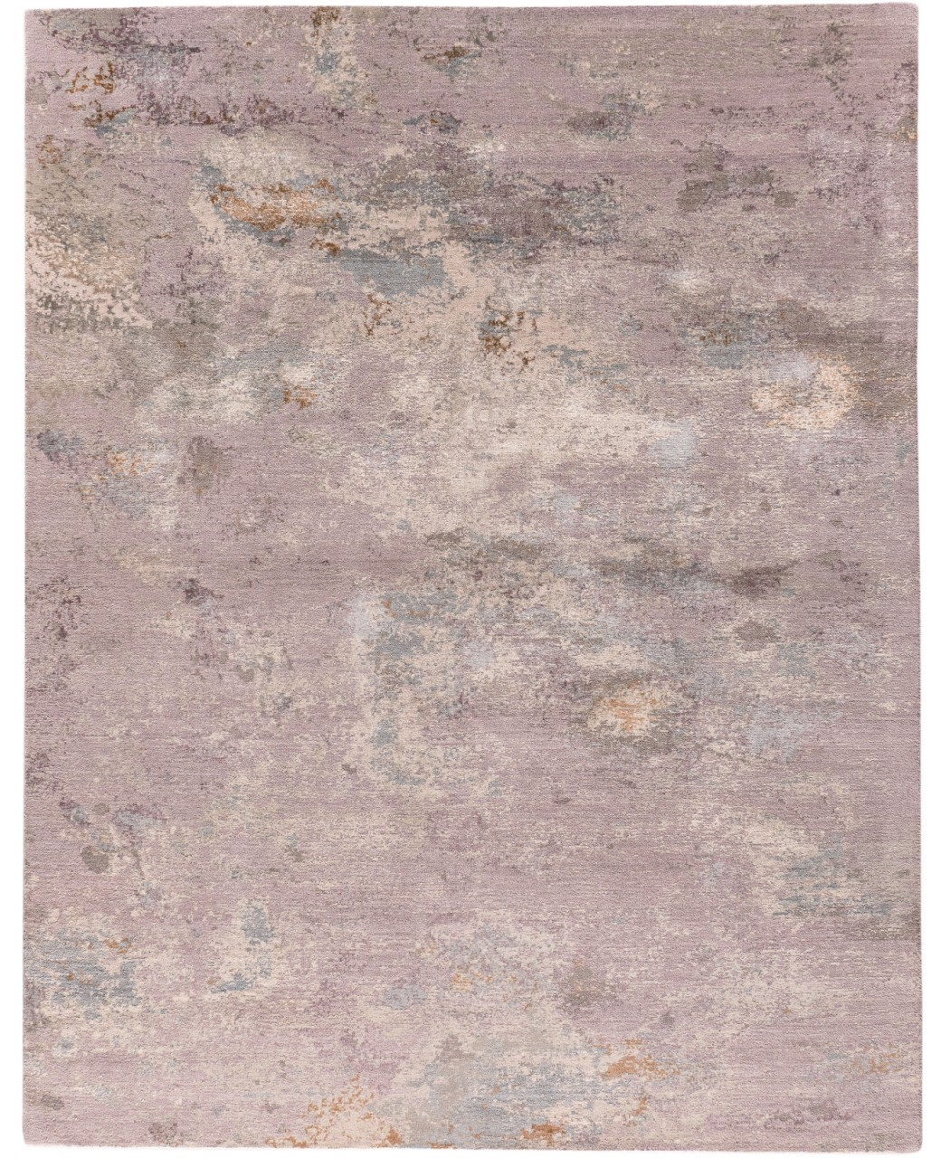 Design-Teppich Lavendelfeld