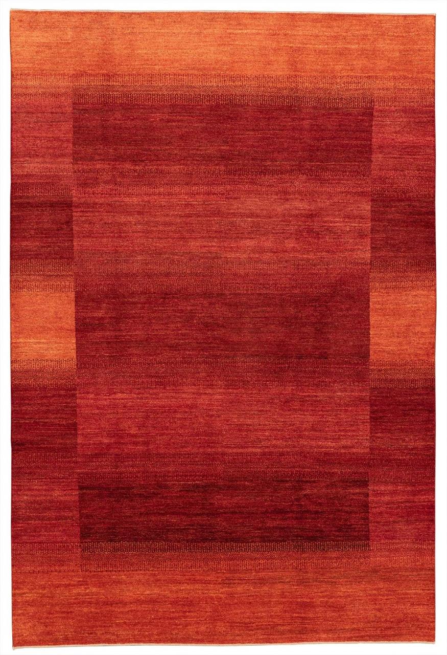 Iran Gabbeh Teppich-Unikat Rote Wiesen