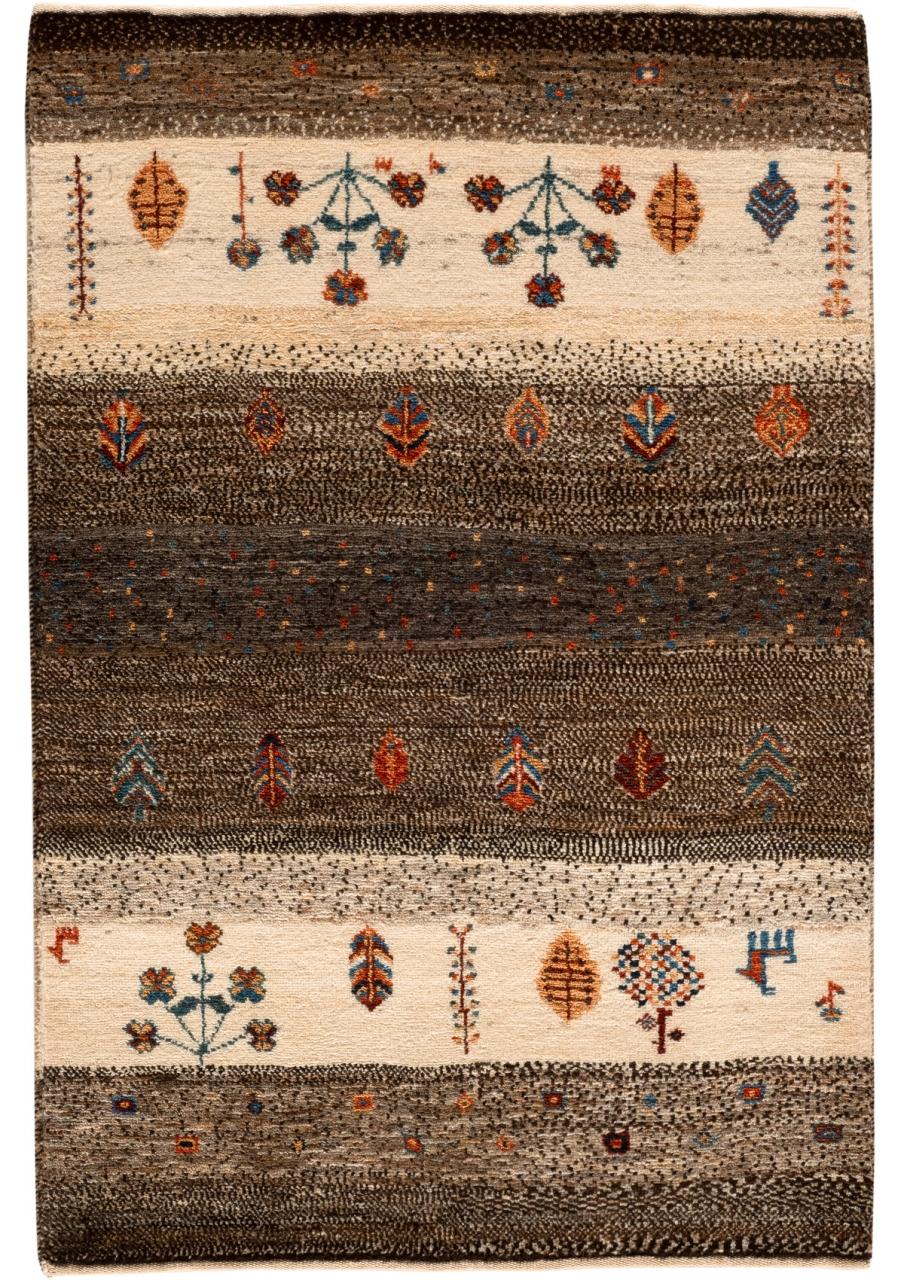 Iran Gabbeh Teppich-Unikat Zauber der Wüste