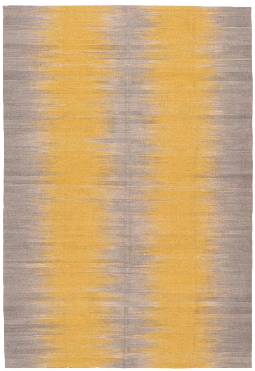 Kelim-Teppich Yellowlight