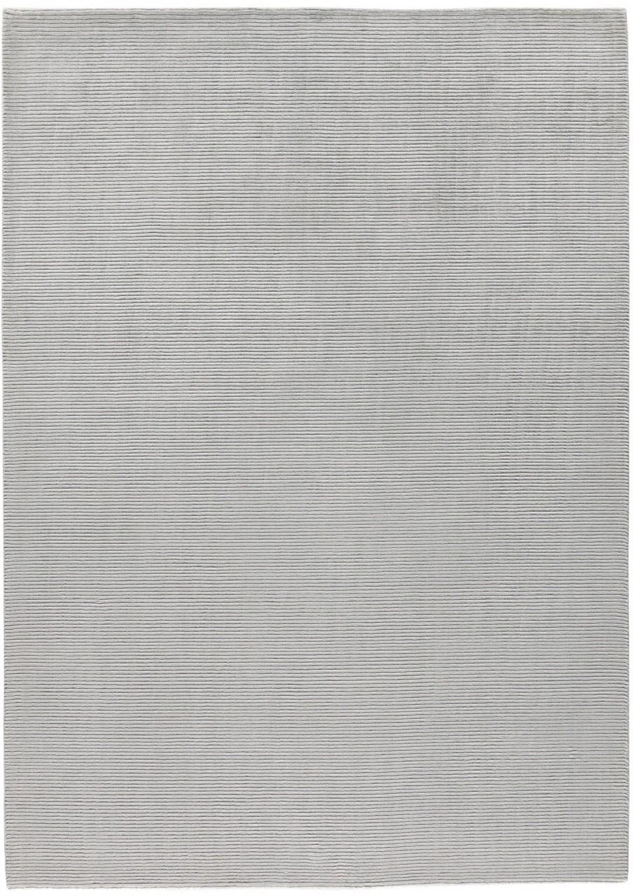 Design-Teppich Uni Silver