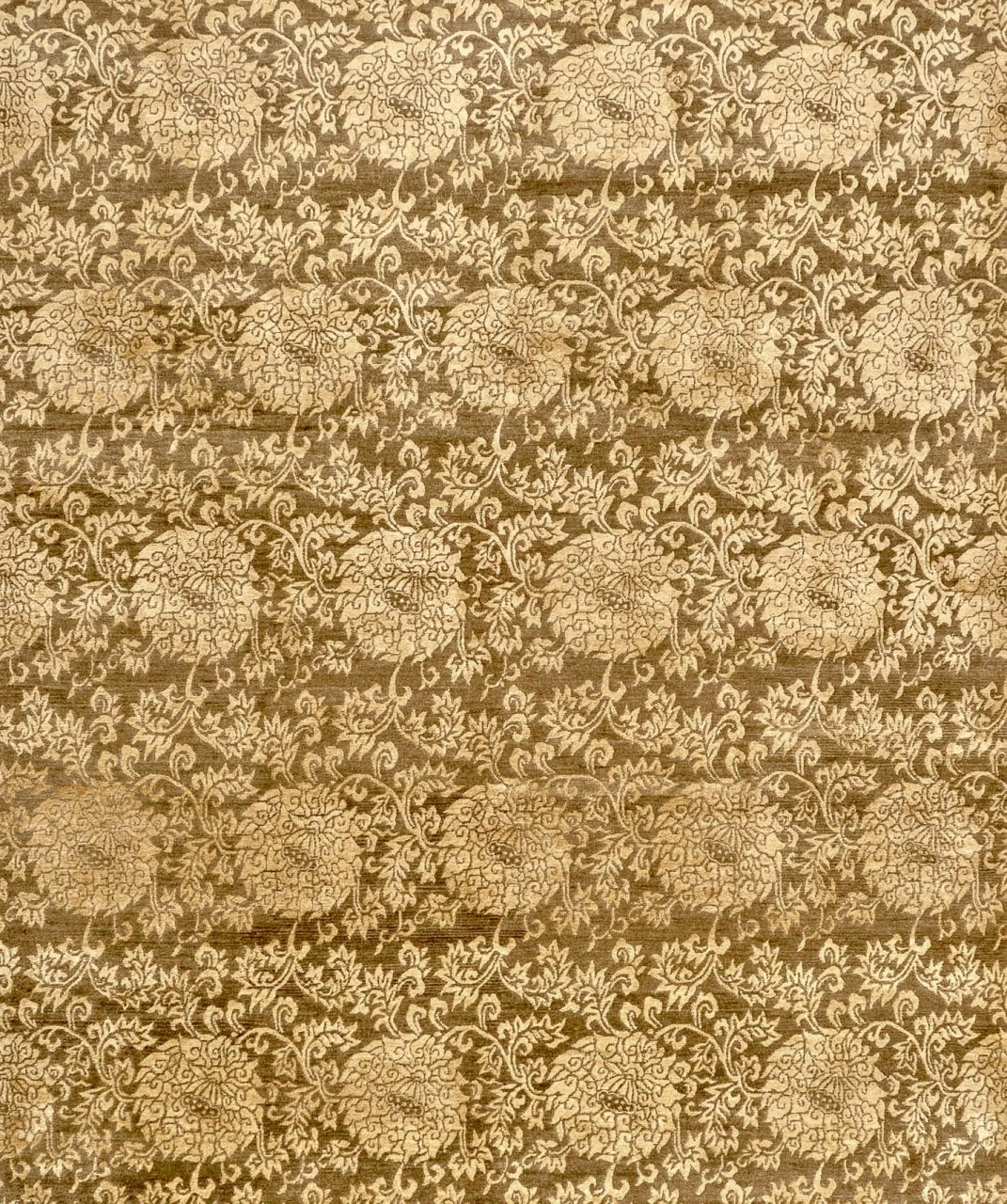Design-Teppich Gold