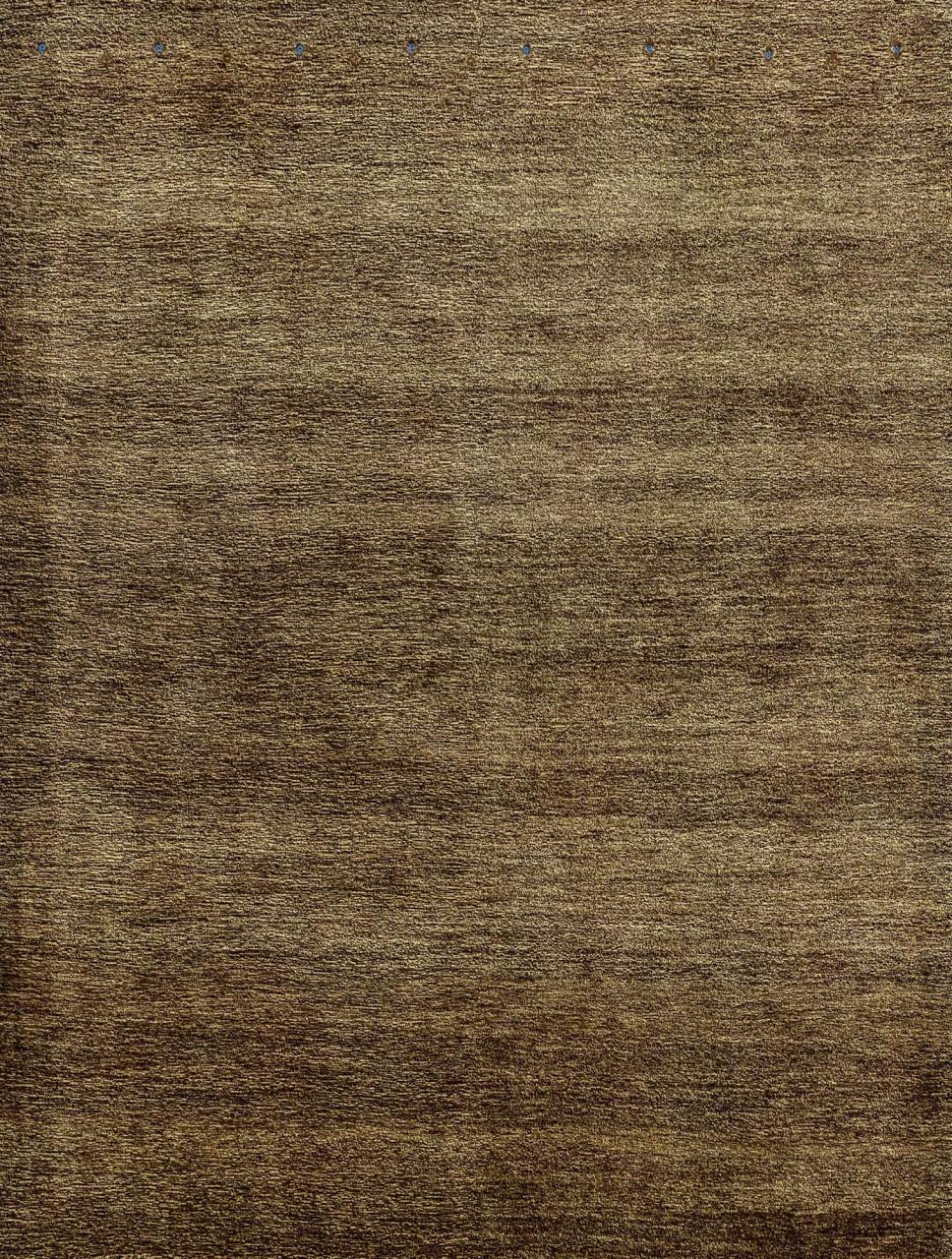 Iran Gabbeh Teppich-Unikat Brown Boteh