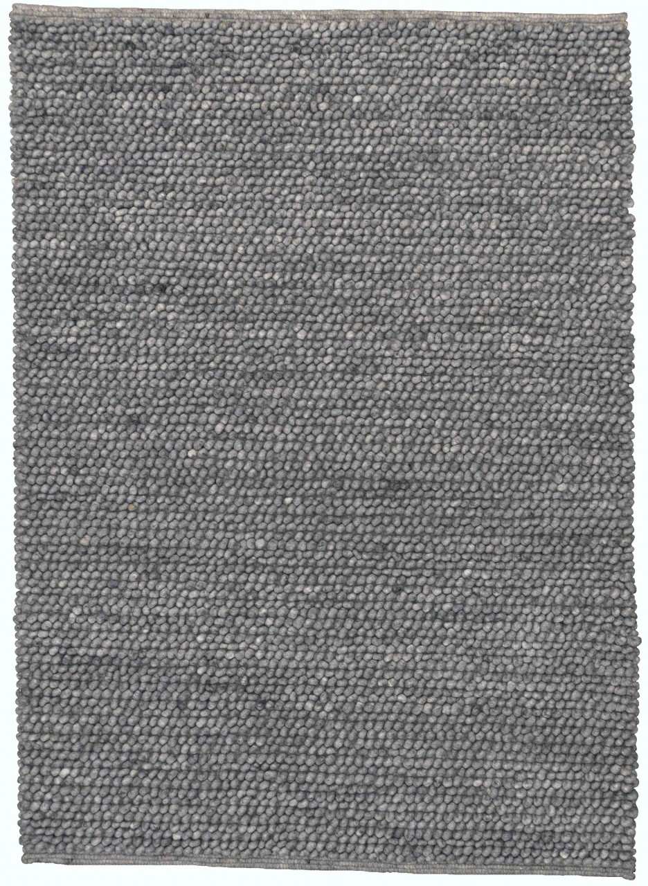 Handwebteppich Simply Grey