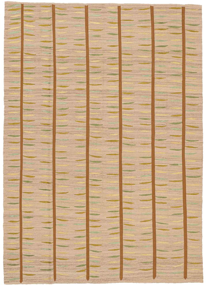 Kelim-Teppich-Bambus