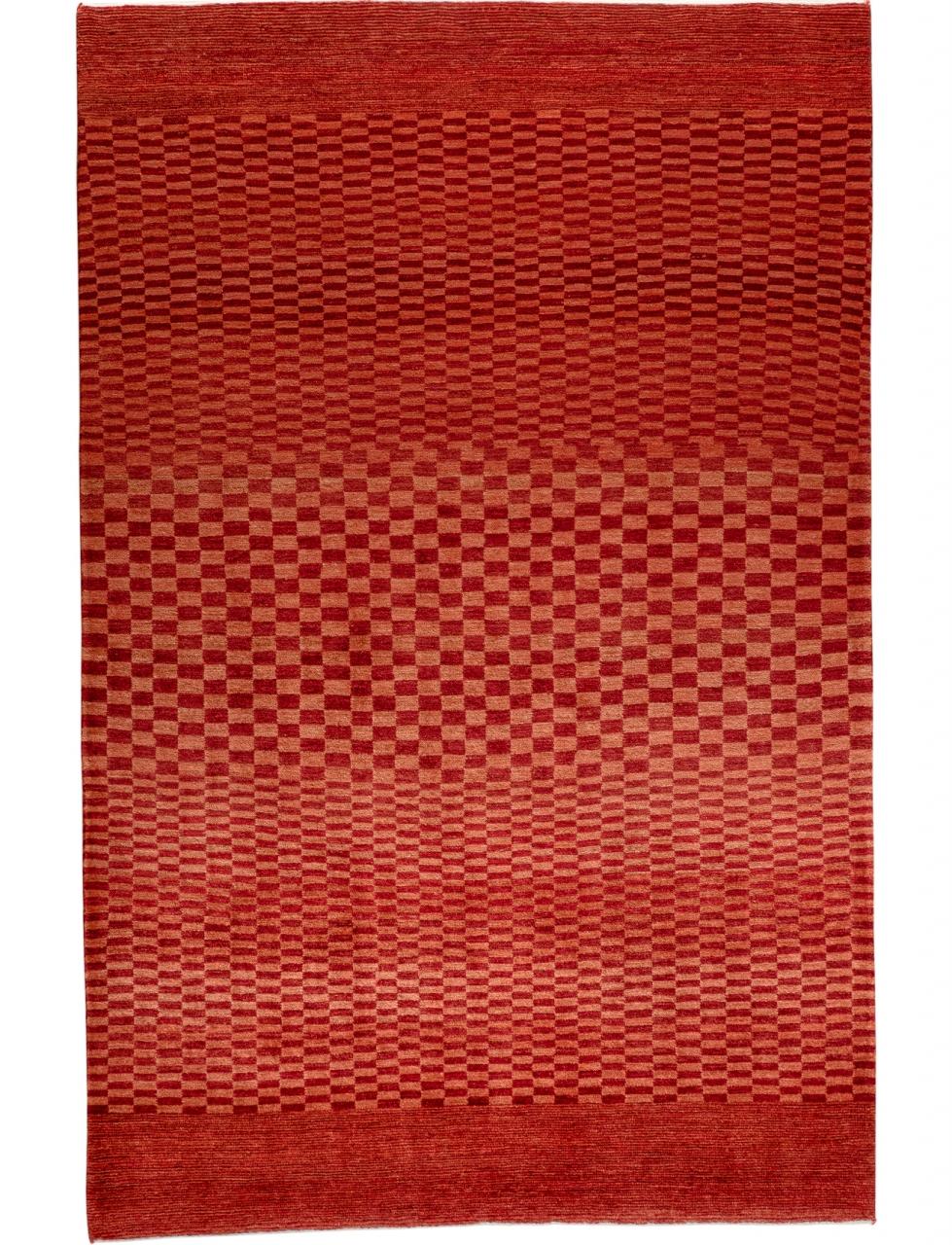 Iran Gabbeh Teppich-Unikat Rote Dünen