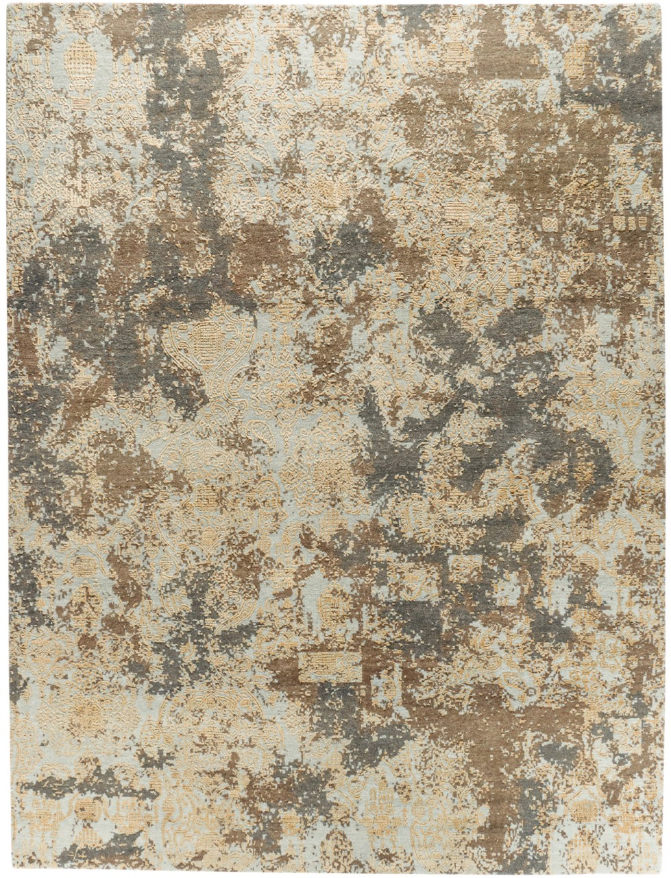 Design-Teppich Fresko