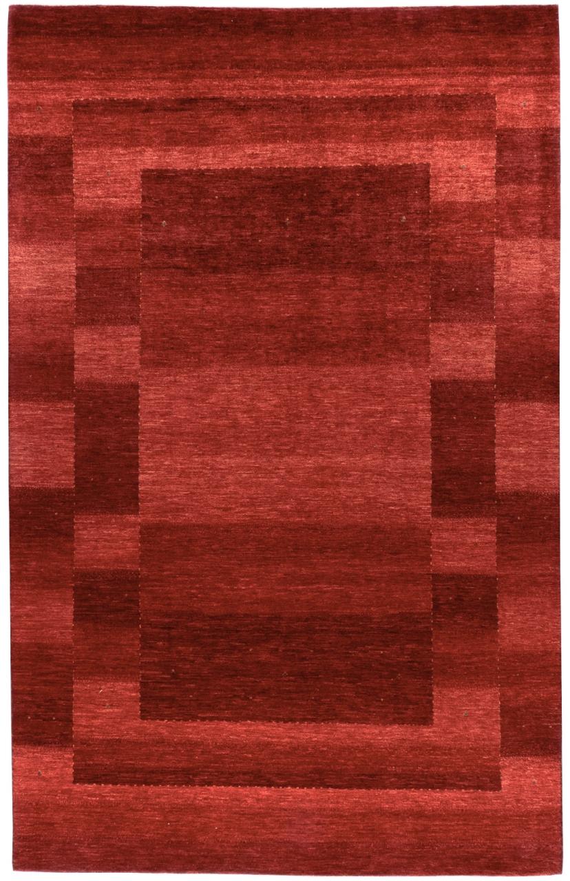 Iran Gabbeh Teppich-Unikat Red Field