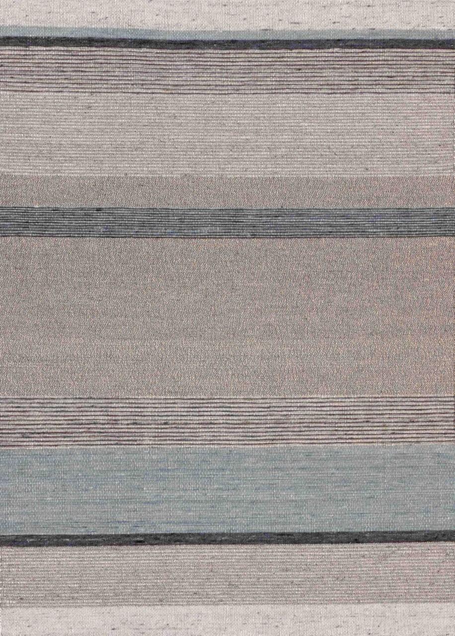 Handwebteppich Blue Stripes