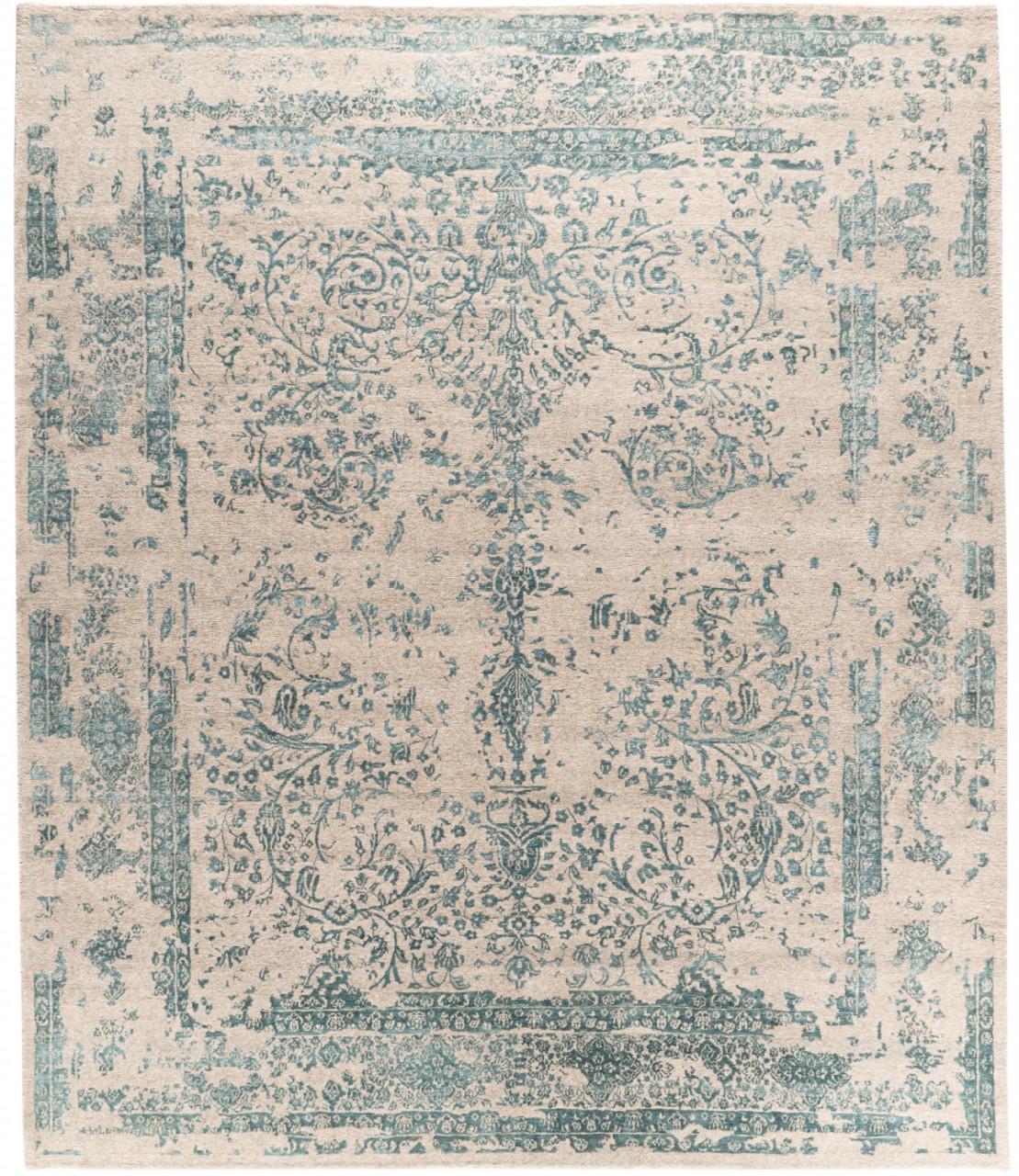 Vintage-Teppich Orientalblue