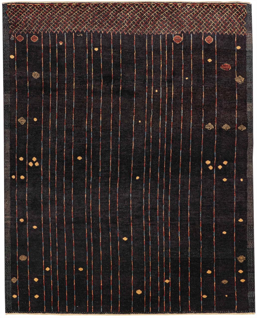 Iran Gabbeh Teppich-Unikat Tribal Artlines