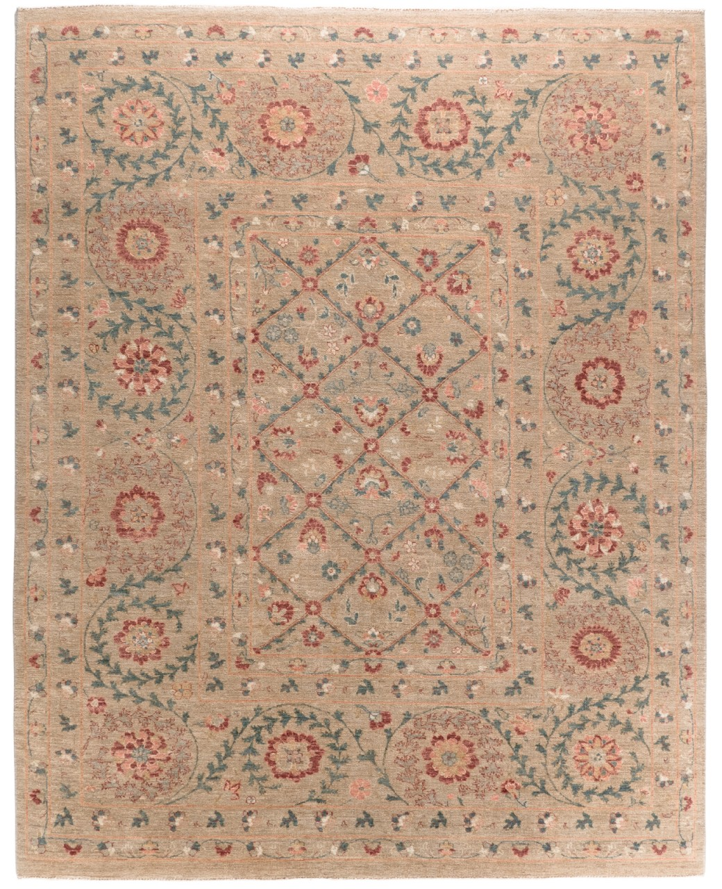 Design-Teppich Modern Flowers
