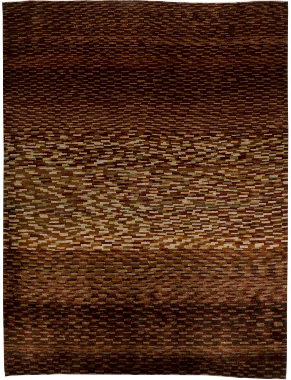 Iran Gabbeh Teppich-Unikat Kieselsteinchen