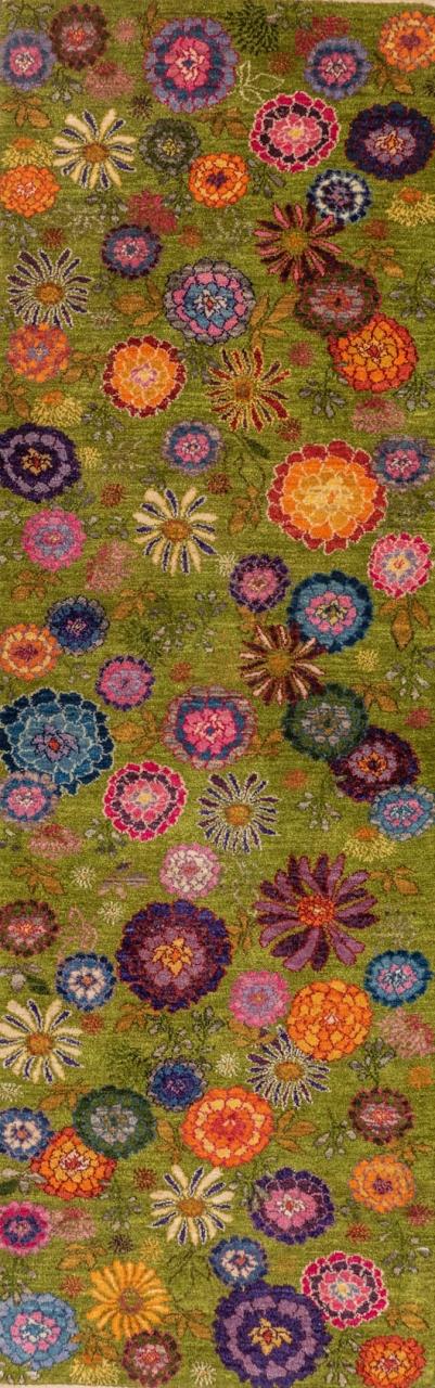 Iran Gabbeh Teppich-Unikat Garten Eden