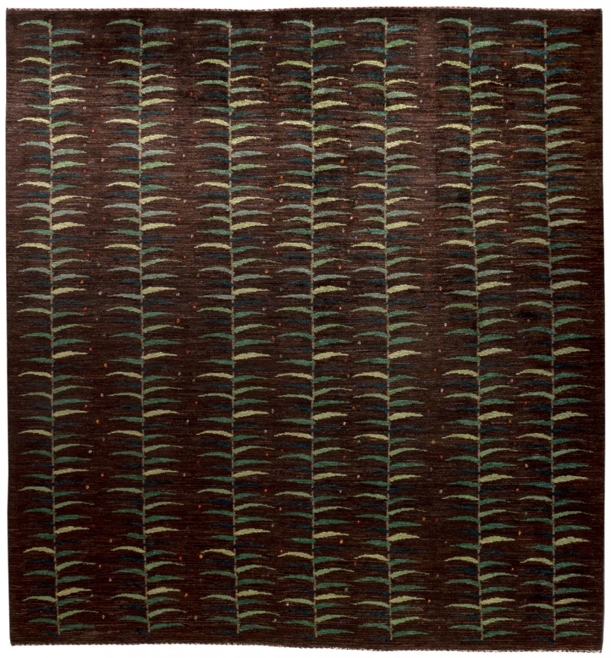 Iran Gabbeh Teppich-Unikat Bambusgarten