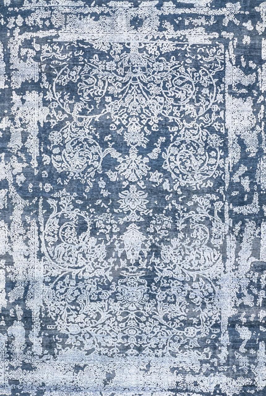 Design-Teppich Blue Taj