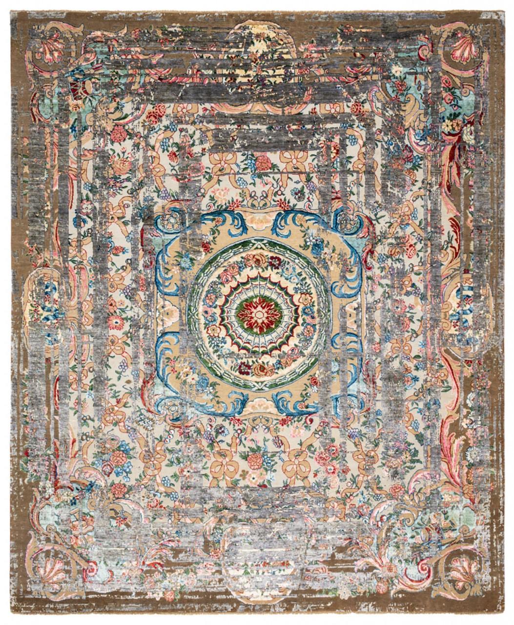 Designer Teppich Jan Kath Marie Antoinette Frame