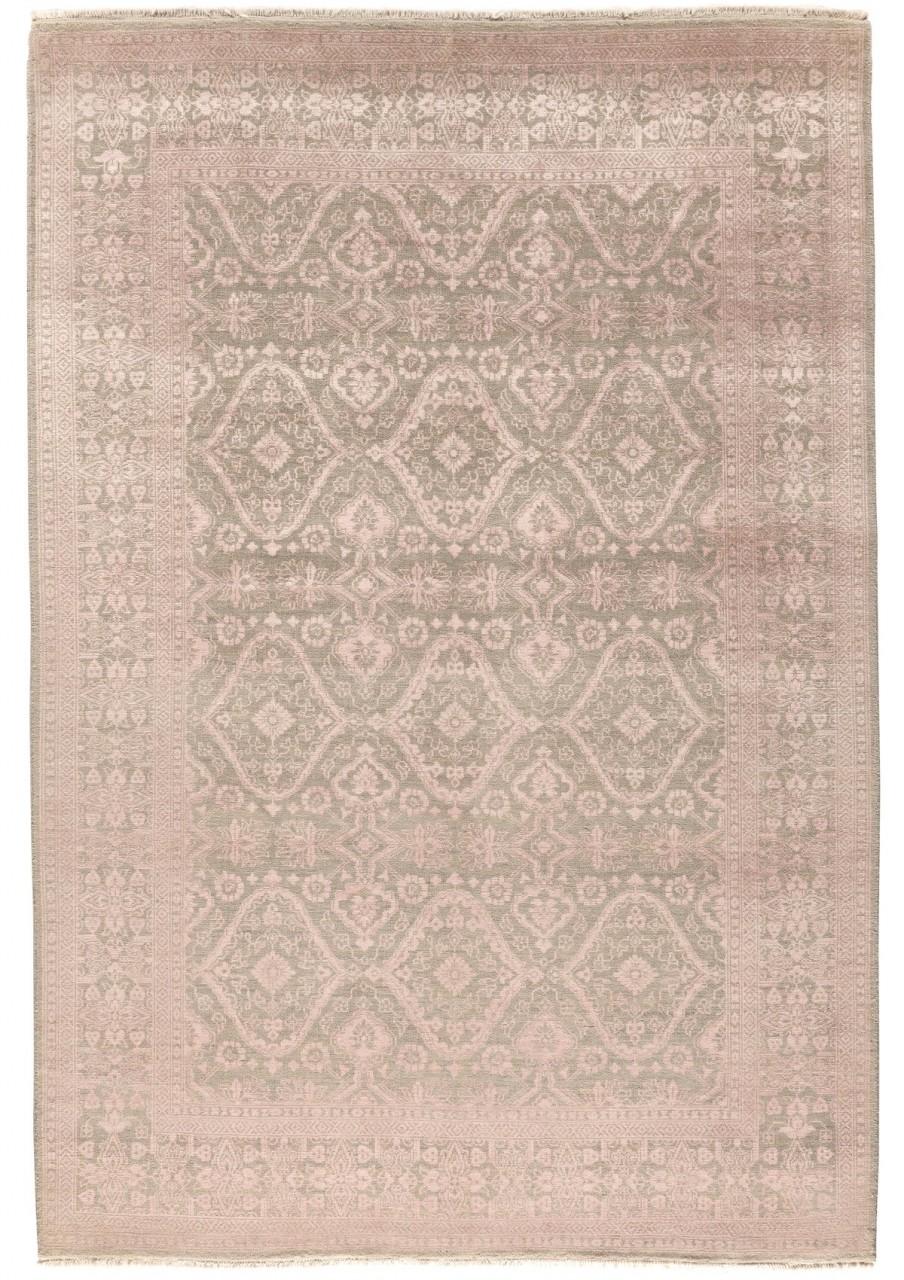 Design-Teppich Mosaik Rose