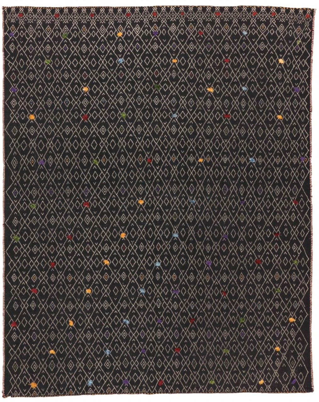 Kelim-Teppich Colordots