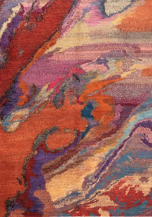 Iran Gabbeh Teppich-Unikat Wunder der Natur