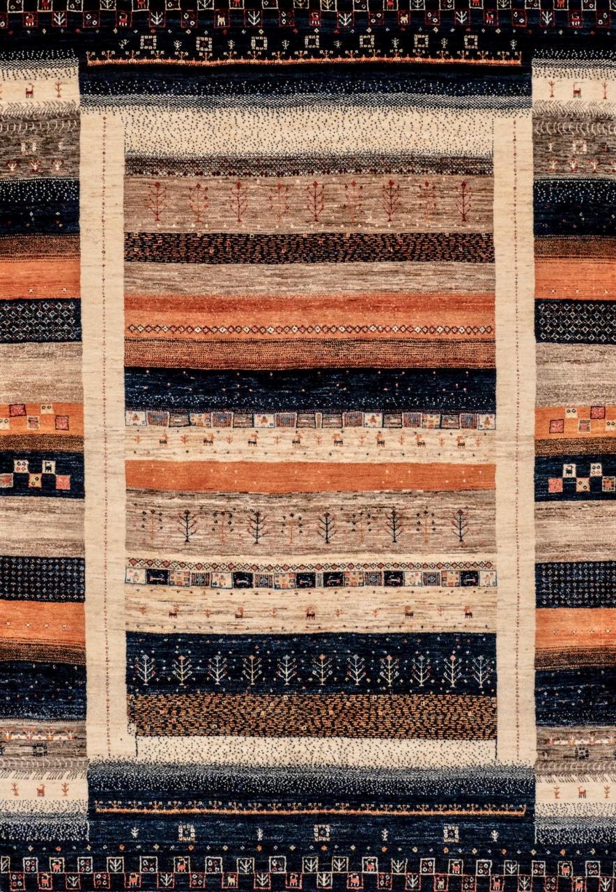 Iran Gabbeh Teppich-Unikat Traditional