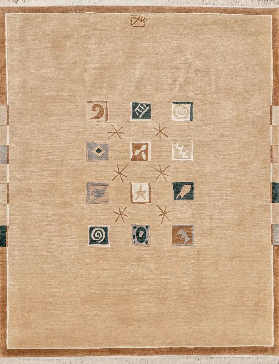 Nepal Teppich Squares