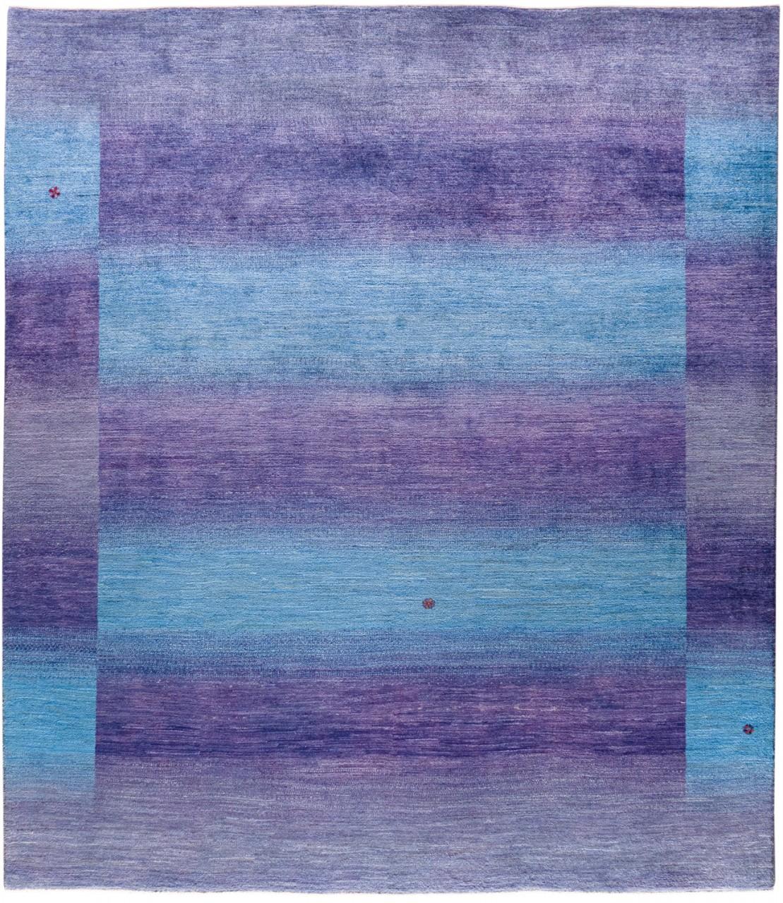 Iran Gabbeh Teppich-Unikat Lavendelschein