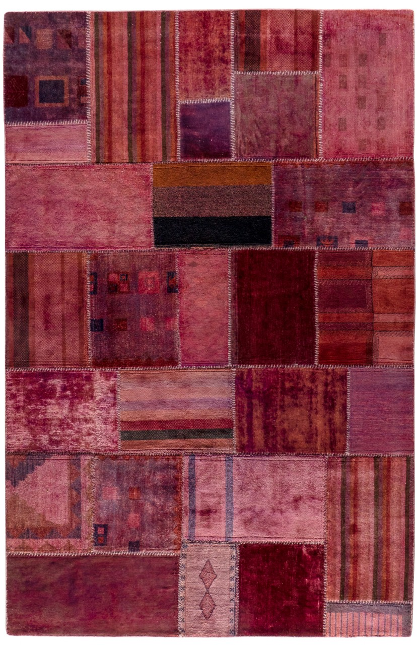 Patchwork-Teppich Lilac