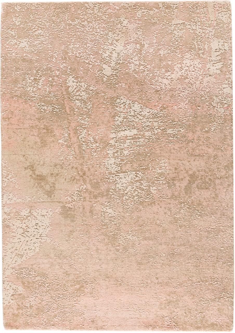 Design-Teppich Rosengold