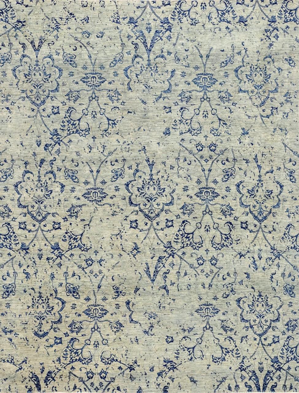 Design-Teppich Vintageblumen